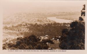 RP: QUEENSLAND, Australia, 1920-30s; View from One Tree Hill (Mt. Coot-tha)