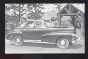 STAUNTON VIRGINIA BARTON MOTORS 1930's CARS DEALER ADVERTISING POSTCARD