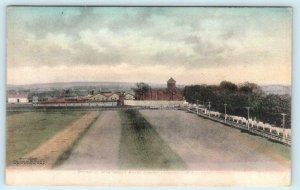 SALEM, Oregon OR  Handcolored STATE PRISON & Grounds ca 1910s Albertype Postcard