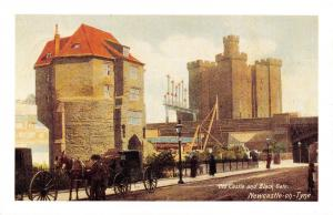 Nostalgia Postcard The Old Castle Newcastle Upon Tyne c1900 Repro Card NS42