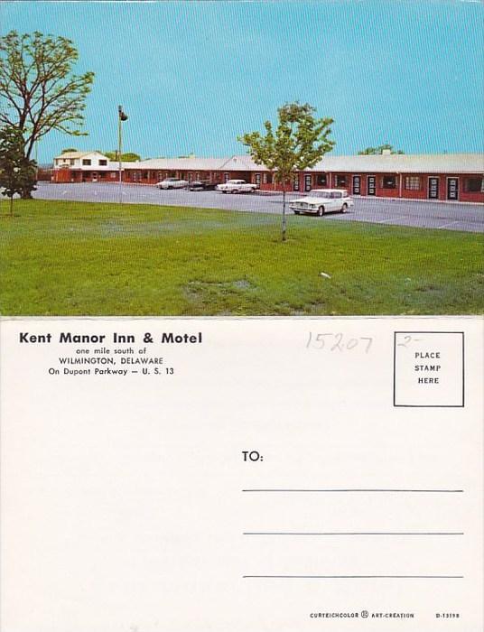 Kent Manor Inn Motel Wilmington Delaware