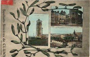 CPA Cluny Souvenir FRANCE (952799)