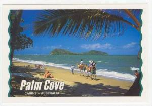 Taking A Camel Ride Along The Beach, Palm Cove, Cairns, N. Queensland, Austra...