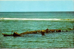 Massachusetts Cape Cod National Seashore The Bark Francis Wreckage