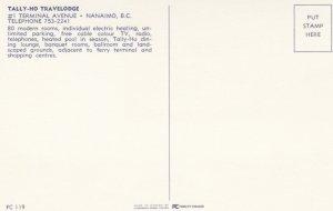 NANAIMO, British Columbia, Canada, 50-60s; Tally-Ho Travelodge
