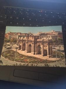 Vtg Postcard: Madrid Spain , Alcala Gate