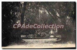 Postcard From Old Algiers D'Essai Interior Garden