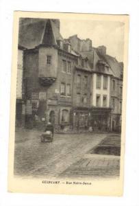 Guingamp, France , PU-1929; Rue Notre-Dame