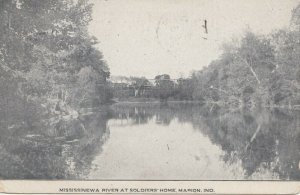 MARION , Indiana , 1908 ; Mississinewa River at Soldier's Home