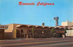 Riverside California Greyhound Bus Station Vintage Postcard K88034
