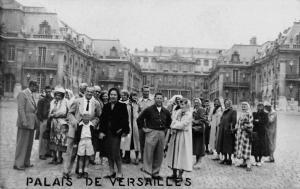 Versailles France Palais de Versailles Real Photo Antique Postcard J48083