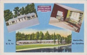 South Carolina Hartsville Lakeshore Motor Court And Dining Room