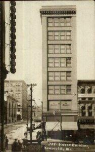 Kansas City MO Victor Building c1910 Real Photo Postcard