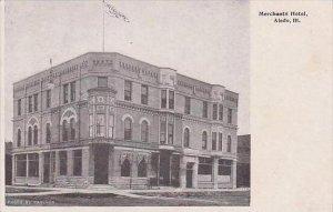 Illinois Aledo Merchants Hotel