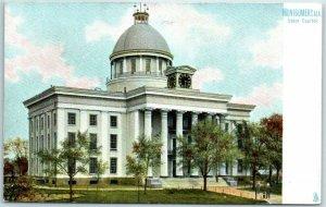 Montgomery, Alabama Postcard State Capitol Building View c1910s TUCKS Unused