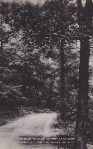 Road To Camp Summit Lake Camp Y W C A Central Valley New York Artvue