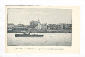 ANVERS.-Le Steen et les Quais (De la Tete de Flandre), Belgium, 1898-1905