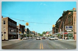 Marshall~Michigan Avenue @ Eagle Street~Schuler's~Telephone Booth~Murphy's~1960s