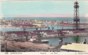 RP: BARCELONA , Spain , 1930-40s ; Le Port
