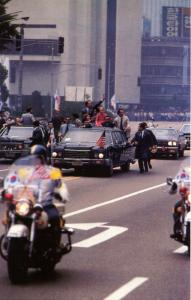 Motorcade with President Jimmy Carter & South Korean President Park