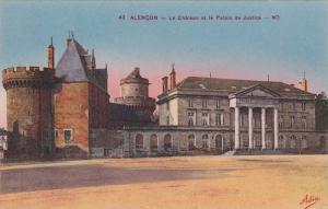 Le Chateau Et Le Palais De Justice, Alencon (Orne), France, 1900-1910s
