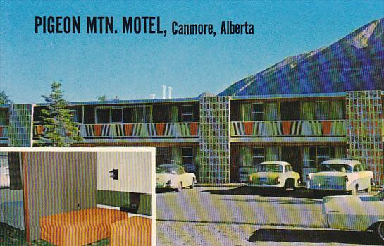Canada Pigeon Mountain Motel Canmore Alberta