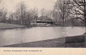 Illinois Springfield Pavilion Washington Park