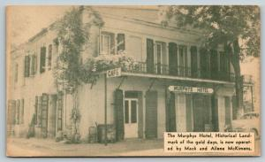 Murphys CA~1950s Car @ McKimens Hotel & Cafe~From Gold Rush Days~Haunted Claims*