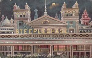 New Jersey Atlantic City Steeplechase At Night 1908