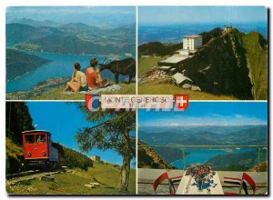 Postcard Modern Monte Generoso Vetta