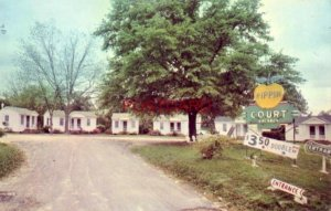 PIPPIN COURT Main Street, SYLVANIA, GA. Mr & Mrs S S Pippin, Owners