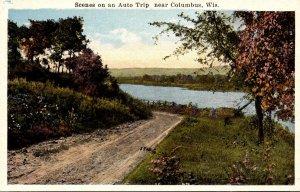 Wisconsin Columbus Scenes On An Auto Trip