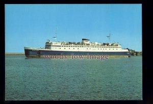 FE3531 - German Ferry - Theodor Heuss , built 1957 - postcard