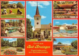 Gruss aus Bad Krozingen, Thermal Freibad Kurkonzert Kurhaus Kurmittelhaus