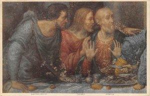 Dettaglio del cenacolo Leonardo da Vinci Religion Unused