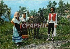 Postcard Modern Arpino Pittoresco Costume characteristic peasant folklore