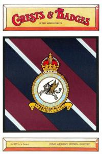 Postcard RAF Royal Air Force Station DUXFORD Crest Badge No.127 NEW