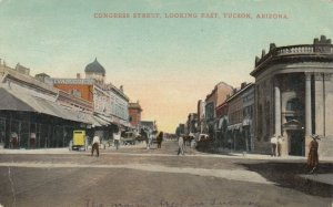 Tucson , Arizona , 1911 , Congress Street Looking East
