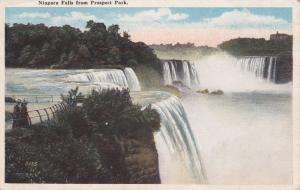 Niagara Falls NY, New York - View from Prospect Park - WB