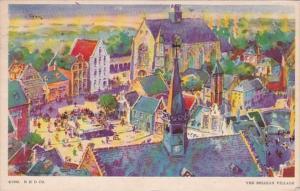 Chicago World's Fair 1933 The Belgian Village 1933