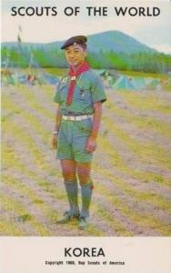 Boy Scouts of the World: Korea, 1968