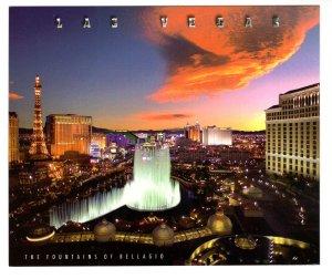 5 X 6 inch, The Fountains of Bellagio, Las Vegas, Nevada