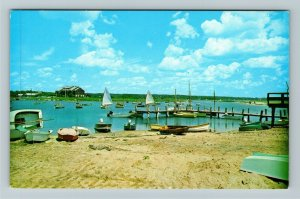 Weekapaug RI-Rhode Island, Scenic View, Chrome Postcard