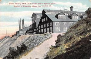 Lead South Dakota~Homestake Mining Co~Ellison Ore Hoist~1909 Postcard