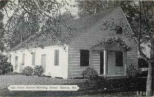 Easton MD Old Third Haven Friends Meeting House~Wm Penn Preached~Lord Baltimore