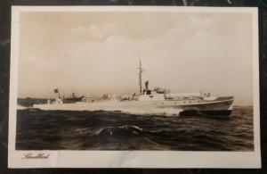 Mint Germany Real Picture Postcard RPPC Schnellboat S Boat Fast Boat