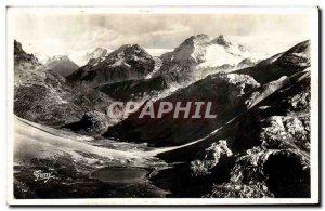 Old Postcard The Alps Savoie The Round Lake and the Col de la Vanoise