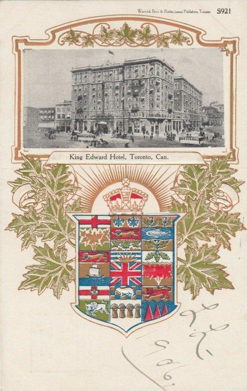 TORONTO, Ontario, Canada, 1900-10s ; King Edward Hotel