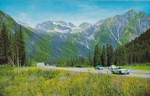 Canada Rogers Pass Highway British Columbia