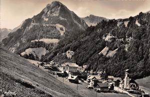 Melchtal Gesamtansicht Kirche Church Panorama Mountain